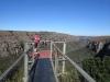 Lake Eland Gorge swing - Hugh & Bridget (1)