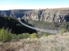 Lake Eland Gorge swing  bridge - S 30.43.241 E 30.11.142 Elev 632m(21)