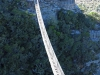 Lake Eland Gorge swing  bridge - S 30.43.241 E 30.11.142 Elev 632m(23)
