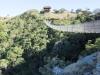 Lake Eland Gorge swing  bridge - S 30.43.241 E 30.11.142 Elev 632m(28)