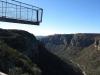 Lake Eland Gorge swing  bridge - S 30.43.241 E 30.11.142 Elev 632m(30)