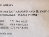 Botha House - Contact Numbers - Hoteliers