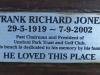 Umdoni Park Environmental Centre -  Plaque - Frank Richard Jones