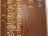 Umdoni Park Golf Course -  Honours Board - Hole in One (2)