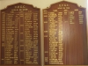Umdoni Park Golf Course -  Honours Board - Hole in One (4)