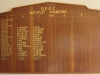 Umdoni Park Golf Course -  Honours Board - Matchplay Champions