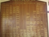 Umdoni Park Golf Course -  Honours Board - Presidents - Captions - Champions and title holders (2)