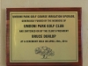 Umdoni Park Golf Course - Plaques - Donors