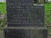 Pinetown - St Andrews Churchyard - 1870 to 1956 - Grave Emily Blanche Beviss 1953 - mother of Meller killed France 1918