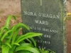 Marrianhill Cemetery grave  Nora Ohagan Ward 1972.