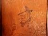 PMB - Allan Wilson Moth Hall - Old Bill Carving