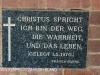 Bishopstowe - St Jakobi Lutheran Kirche Hall plaque