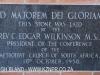 Epworth Chapel Plaque Edgar Wilkinson 1958