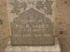 Fort Napier Cemetery Pvt R Sauer 1901
