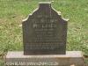 Fort Napier Cemetery Pte William McLaren 1900