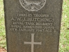 Fort Napier Cemetery CWG Trooper A Hutchings