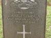 Fort Napier Cemetery CWGC GunnerIsraeli Sempala