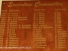 PMB Bowling Club Executive Committee honours board
