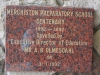 Merchiston Prep - Centenary Plaque - 1992