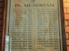 Merchiston Prep -  Honours Board - Roll of Honour