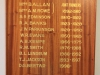Merchiston Prep -  Honours Boards - Pricipals
