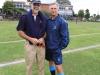 Merchiston Prep - Rugby festival - Hank Pike & Dave Beetar (Principals DPHS & Merchiston))