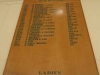 Natal Canoe Club -  Honours Boards (4)