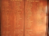 PMB Girls High - Honours Boards - Founders 1920 -