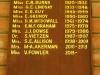 PMB Girls High - Honours Boards - Principals -  (2)