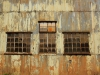 PMB - SAR & H - Goods Sheds - Exchange Road -  Windows of sheds (1)