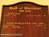 St Charles College Chapel Roll of Honour (1)