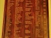 St Charles College Chapel Roll of Honour (2)