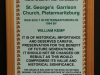 PMB St Georges Garrison Church organ and organist Mr Willie Poole (2)