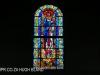 St Johns School Chapel stain glass windows (3)