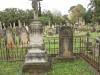 Voortrekker Cemetery West - Grave David & Helen Evans (1903)