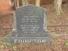 Voortrekker Cemetery West - Grave Edington 1920