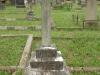 Voortrekker Cemetery West - Grave Edwin Cheere Emmett (1910 aged 67)and wife Maria Elizabeth aged 83 (nee Falke 1928)