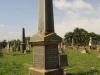 Voortrekker Cemetery East grave  Ash family 1907