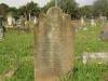 Voortrekker Cemetery East grave  - E Greening 1887
