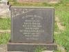 Voortrekker Cemetery East grave  Edith 1948 & Athur Baker 1927
