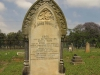 Voortrekker Cemetery East grave  Edith & Ethel Taylor - Died 21 Dec 1895 - Glencoe Rail disaster - and Tom Alderly - infant son