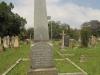 Voortrekker Cemetery East grave  Elizebeth Ann Peck 1886 & William Peck 1907