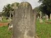 Voortrekker Cemetery East grave  John Barholemew 1890
