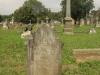 Voortrekker Cemetery East grave  - M Vause 1891