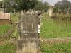 Voortrekker Cemetery East grave  Monas Peard 1885