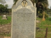 Voortrekker Cemetery East grave Rebecca Urquhart 1862 wife of  Peter Sutherland (Surveyor General)