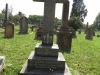 Voortrekker Cemetery East grave  St George Arbuthnot  1911 and Blanche 1946