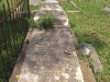 Voortrekker Cemetery East grave - Stanhope F London - Lt 8th North Staffs & ILH killed in France 18 Nov& Jessie London