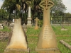 Voortrekker Cemetery East graves William  1895 at Non Such Town Bush - & Louisa Jefferies 1864