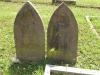Voortrekker Cemetery East graves illegible
